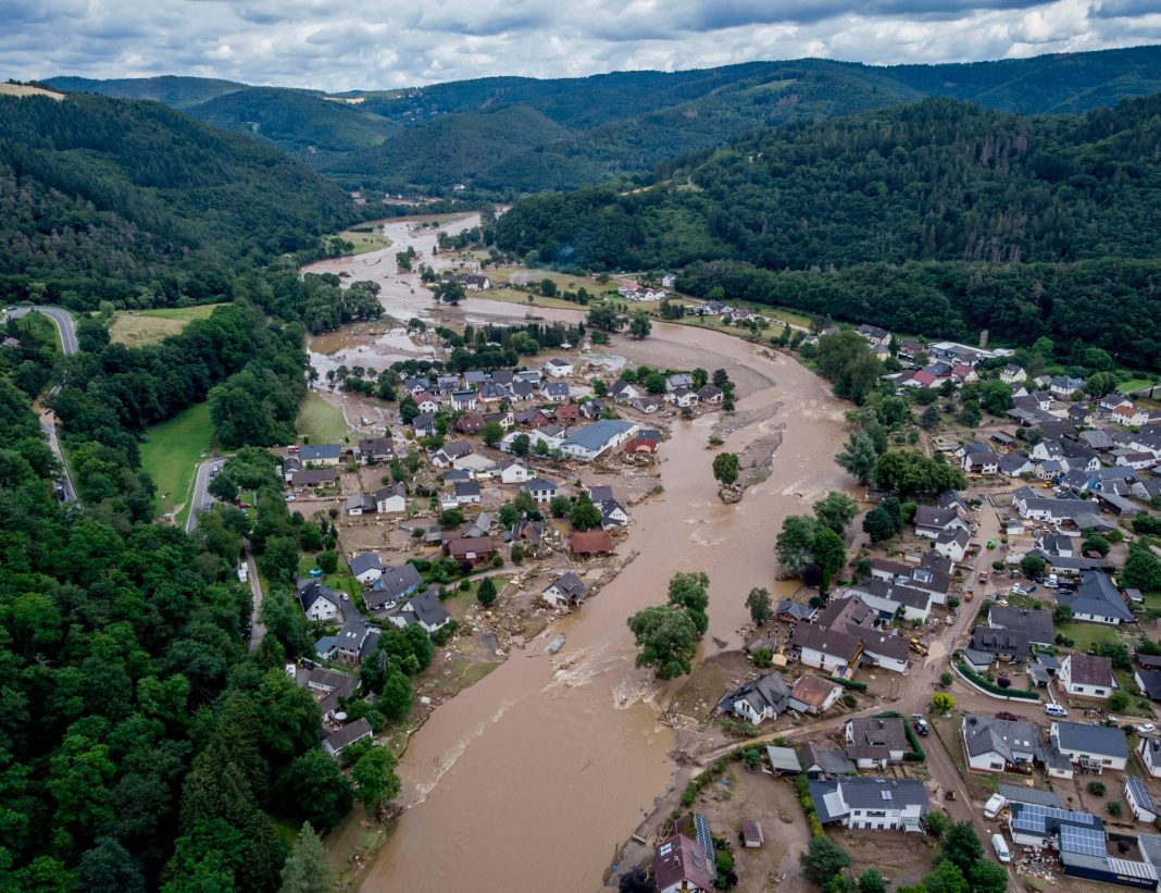 Flooding in Germany